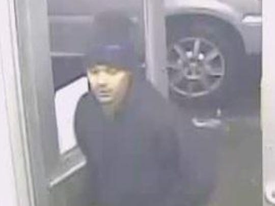 Detroit police released photos of the three men, asking