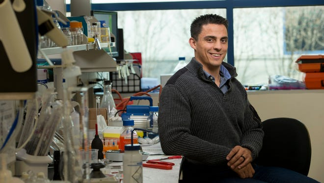 Rutgers graduate student Michael Johnson has been recognized by Forbes magazine for being a young leader in the field of science.