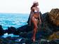 Rihanna shows off a shot from a recent, beach-bound