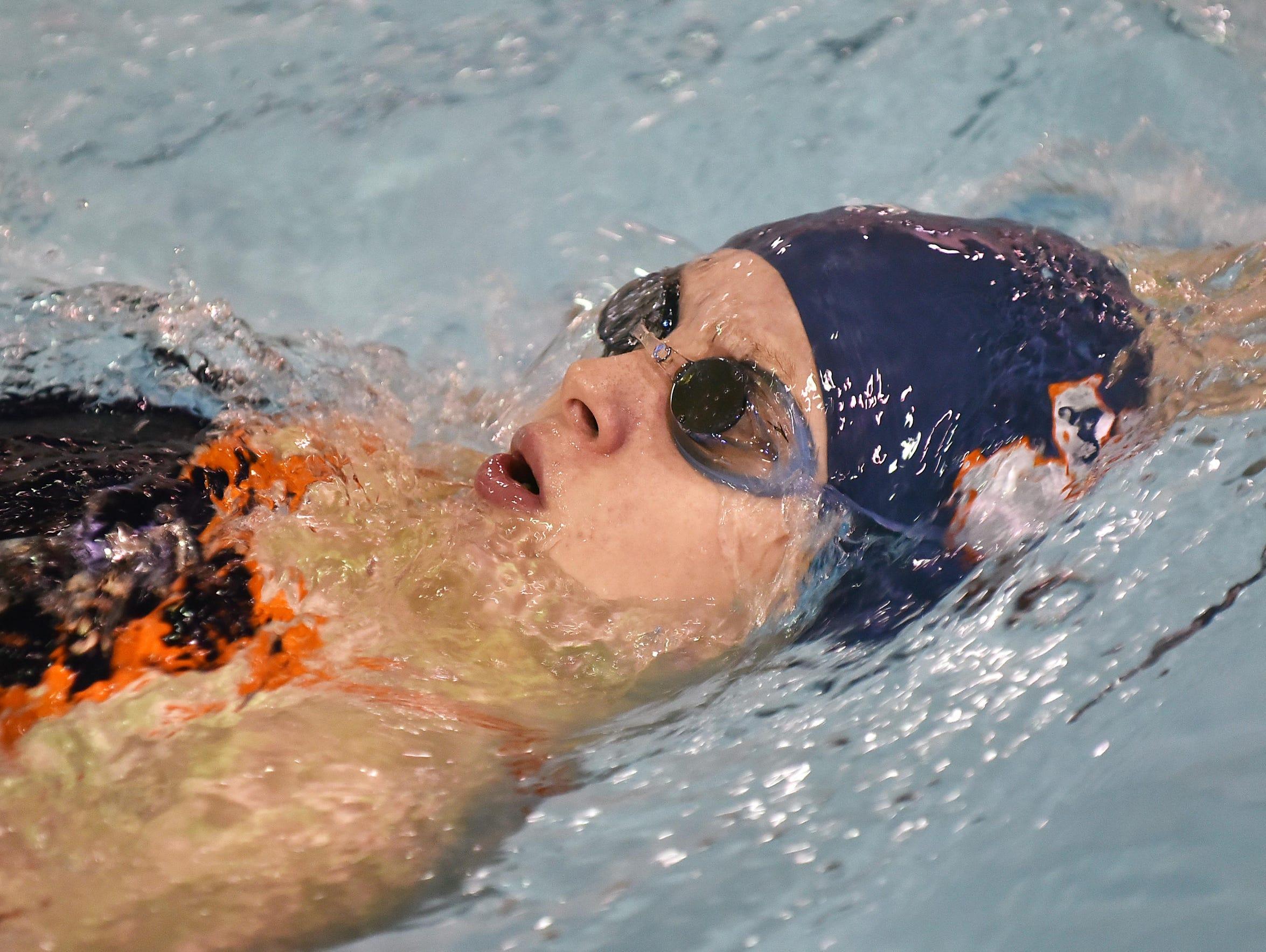 Millville freshman swimmer Colleen Renshaw.
