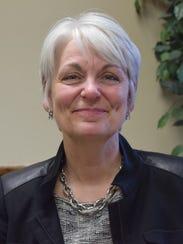 Laurie Hamen, president of Mount Mercy University