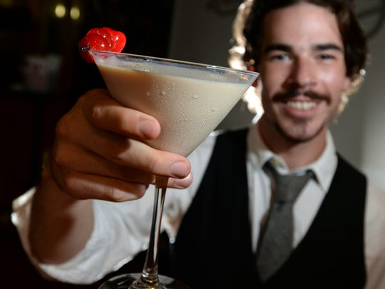 A Charlevoix Hemingway drink made by Patrick O'Brien, a bartender at Abby Singer's Bistro.