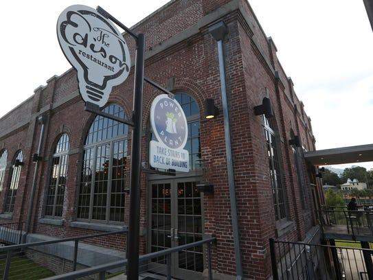 The Edison bar and restaurant at Cascades Park on Thursday,
