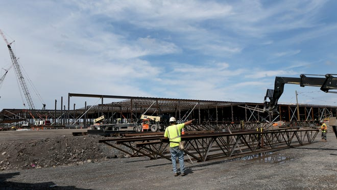 New York state is investing $500 million from the Buffalo Billion, plus an additional $250 million from other sources, to build a 1.2 million-square-foot manufacturing facility on part of the old site of Republic Steel.