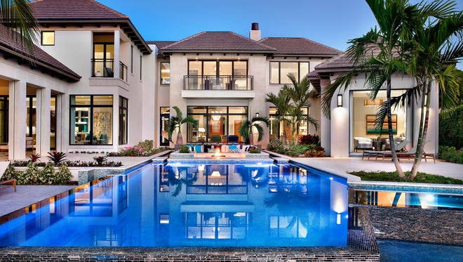 This $17.7 million estate at 3750 Rum Row is in the Port Royal neighborhood in Naples. It represents the highest-priced home sale in Port Royal and all of Naples so far in 2017, as reported in the Naples Area Board of Realtors Southwest Florida Multiple Listing Service.