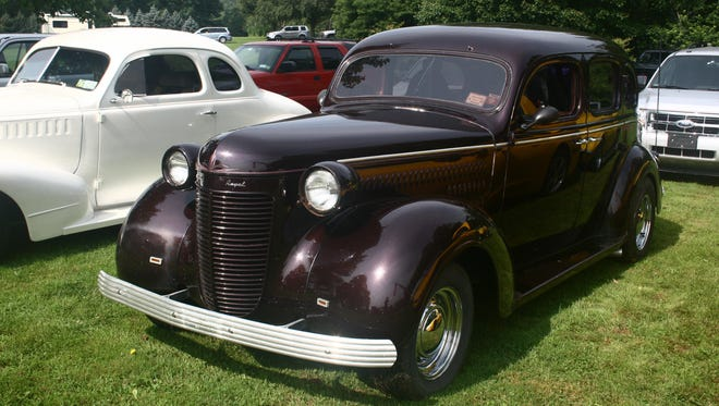 A variety of antique cars are expected at Cars in the Park on Sunday.