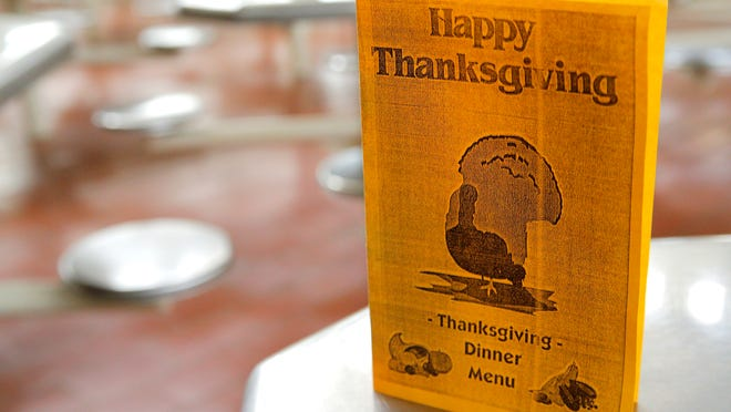Correctional Training Facility in Soledad is hosting a Thanksgiving dinner