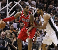 LaMarcus Aldridge's tweet announcing that he intends to sign with the Spurs.