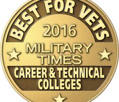Best for Vets: Career & Technical Colleges 2016 logo