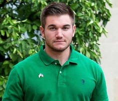 Alek Skarlatos and Lindsay Arnold performed a foxtrot for his 'Dancing with the Stars' debut.