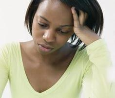 Depression affects women more than men.