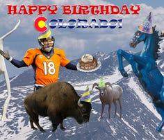 Happy Birthday, Colorado!