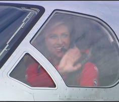 Pilot inspires women to fly high
