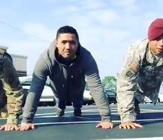 Raising awareness about veteran suicides