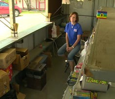 Thieves target charity fireworks stand