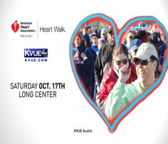 Join KVUE's Cori Coffin in the fight against heart disease with a 5K on Saturday, Oct. 17.