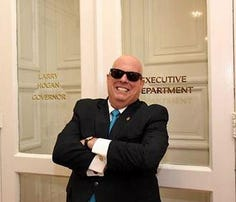 Maryland Gov. Larry Hogan at the Annapolis State House