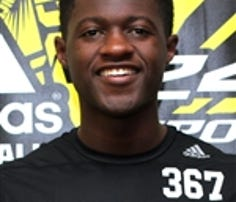 Class of 2016 wide receiver recruit Brandon Johnson from American Heritage High School in Fort Lauderdale, Florida.
