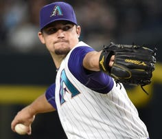 Former Vol Zack Godley turned in a stellar debut for the Diamondbacks on Thursday