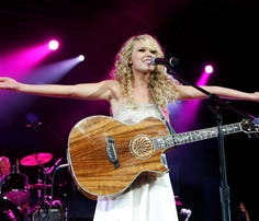 So, about that time Taylor Swift played a park shelter in Des Moines ...