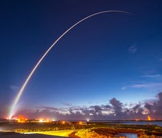 An Atlas V rocket carrying the MUOS-4 satellite lifts off from Cape Canaveral AFS' Space Launch Complex 41 at 6:18 a.m., Sept 2.