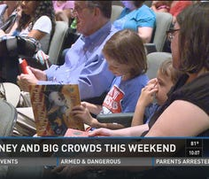 Big money, big crowds for Labor Day weekend