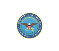 Official seal of the Defense Department.