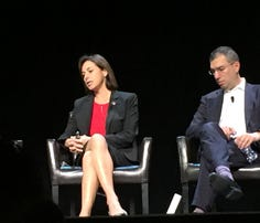Acting Assistant Secretary for Health Karen DeSalvo and Centers for Medicare & Medicaid Services' acting administrator Andy Slavitt speak on the progress of interoperability at the 2016 HIMSS conference in Las Vegas.