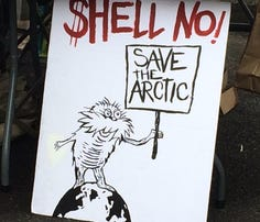 Planned protest for Shell Oil in Oregon