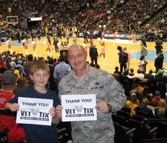 Vet Tix helps current and former troops get free tickets to games, concerts and other events.