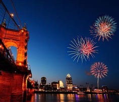 Fourth of July: Firework displays in America's cities