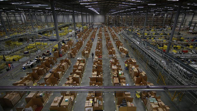 Amazon will open one of its sprawling fulfillment centers in Florence this fall.