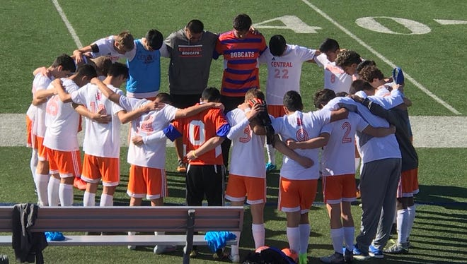 The Central High School boys soccer team has won 10 games in a row and climbed to a perfect 8-0 in District 8-6A play.