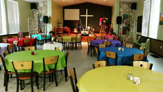 Mosaic Church, 2100 Port Malabar Blvd., Palm Bay, will have a ribbon-cutting event at 9: 30 a.m. Saturday to mark the opening of Palm Bay's first cold weather shelter.