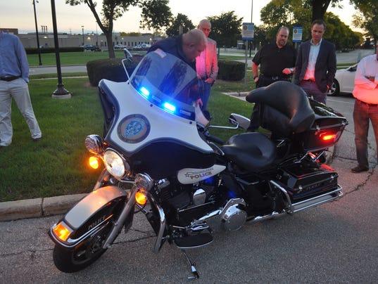 Brown Deer police motorcycle