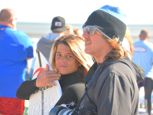 Paddle out for Patr O'Hare