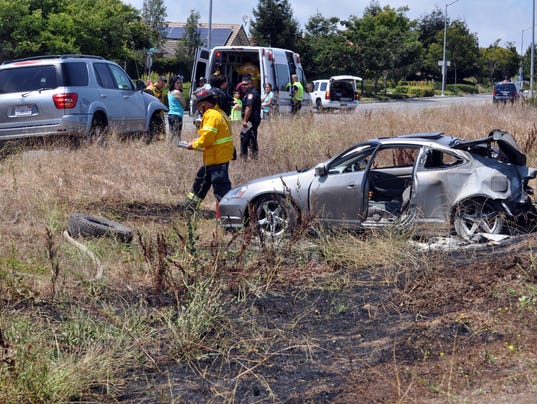 Car Accident In Salinas August