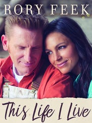 Rory, left, and Joey Feek on the cover of his memoir.
