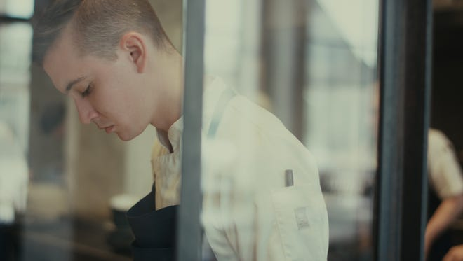 Springfield chef Daniel Ernce is shown working at 108, a Michelin-star restaurant in Copenhagen, Denmark. He recently completed a competitive internship there.