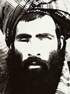 An undated image believed to be showing Afghan Taliban leader Mullah Omar.