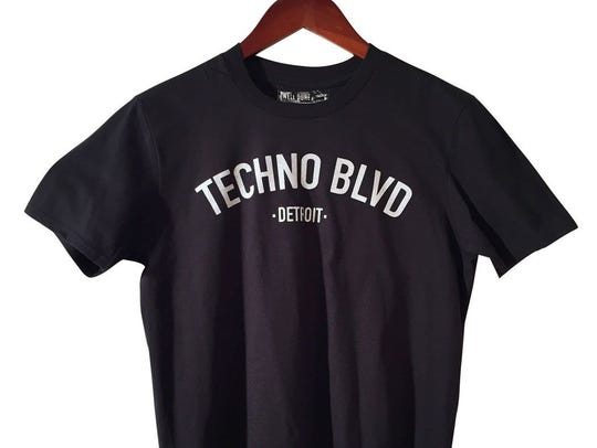 A tribute to Detroit's techno capital status. $24 at