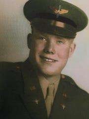 James Geiger of Conrad in uniform
