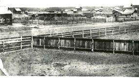 First photo of Snowflake, Arizona, in 1884.