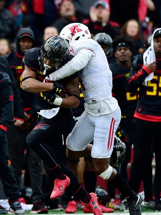 NCAA Football: Rutgers at Maryland