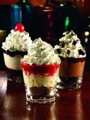 Mini desserts pack a c...