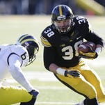 A healthy fullback Adam Cox should help the productivity of Iowa's running game in 2015