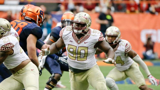 Florida State defensive tackle Eddie Goldman