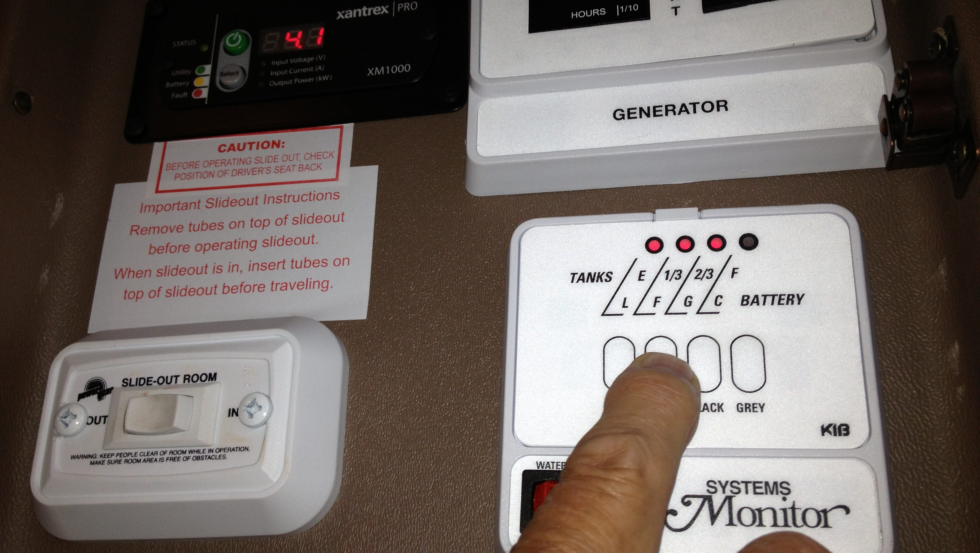 For newbies, RV control panels can be overwhelming. For water pumps alone, there are three different switches.