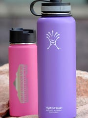 Water bottles by Hydroflask, $29.99-$36.99. At Great Outdoor Store.