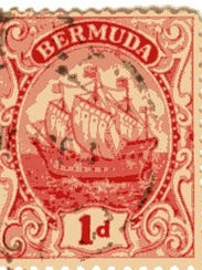 This 1919 Bermuda issue stamp may be worth 25 cents